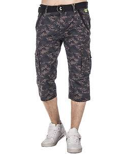 MZ72 Brand Oron Shorts Blue Camo