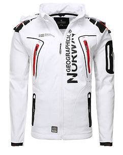 Geographical Norway Tambour-Taco Softshell Jacket White