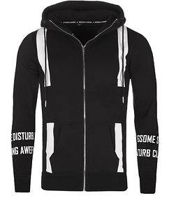 Disturb Clothing Geobas Hoodie Black/White