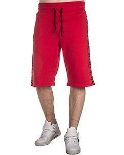 Disturb Clothing Disturb AF Athletic Shorts Red/Black