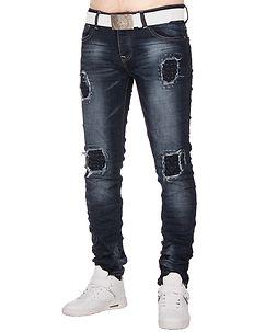 MZ72 Brand Wire Jeans Denim Blue