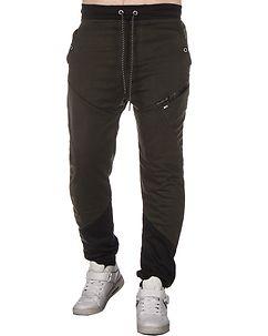 MZ72 Brand Jays Sweatpants Dark Green/Black