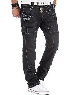 Kosmo Lupo KM-050 Jeans Black