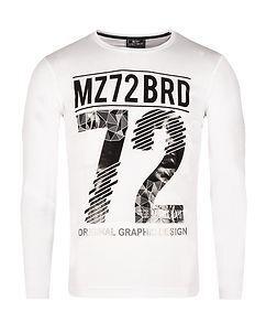 MZ72 Brand The Winter Longsleeve White