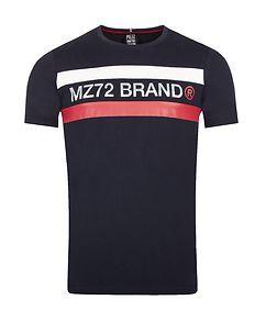 MZ72 Brand The Line T-Shirt Navy Blue