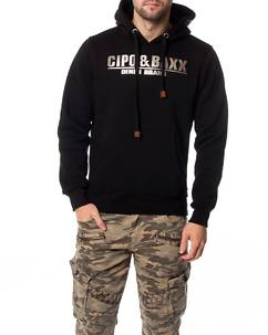 Cipo & Baxx CL261 Hoodie Black