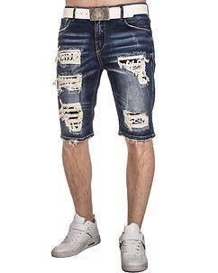Cipo & Baxx CK175 Denim Shorts Blue