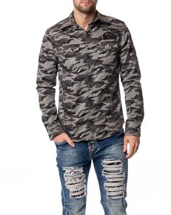 Cipo & Baxx CH130 Shirt Grey Camo