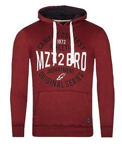 MZ72 Brand Jondas Hoodie Red