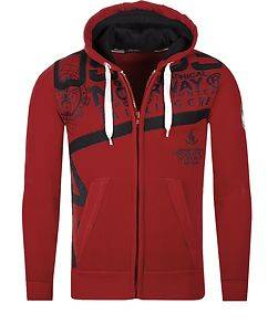 Geographical Norway Gilba Hoodie Red