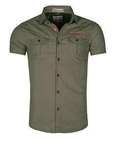 MZ72 Brand Crisp T-Shirt Green
