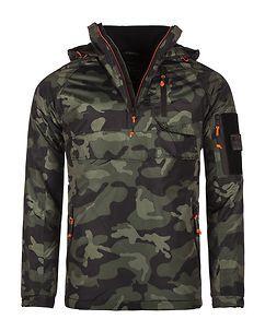 MZ72 Brand Lected Jacket Khaki Camo