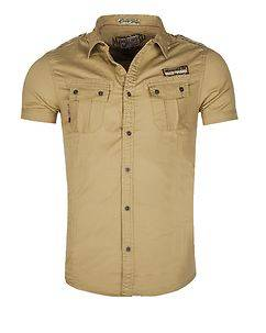 MZ72 Brand Cawer T-Shirt Beige