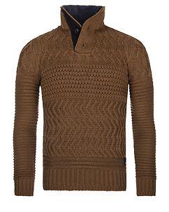 MZ72 Brand Slide Knit Brown