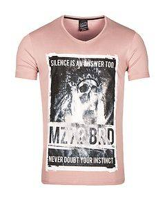 MZ72 Brand The Flame T-Shirt Pink