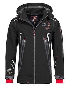 Geographical Norway Tonic Softshell Jacket Black