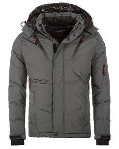 Geographical Norway Blydex Winter Jacket Grey