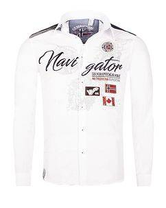 Geographical Norway Zariminel Shirt White