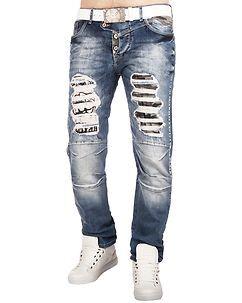 Cipo & Baxx CD353 Jeans Denim Blue
