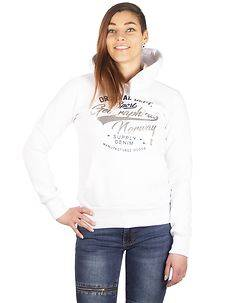Geographical Norway Arianne Hoodie White