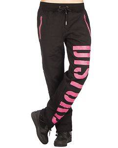 Disturb Clothing DSTRB W Sweat Pants Black/Pink