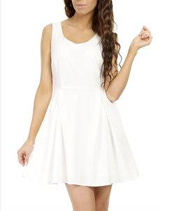 MOE Laura Dress White