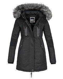 Geographical Norway Corall Parka Black