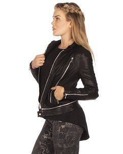 TOXIK3 Alexis Biker Jacket Black