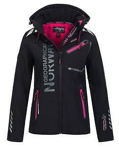 Geographical Norway Reveuse Softshell Black/Pink