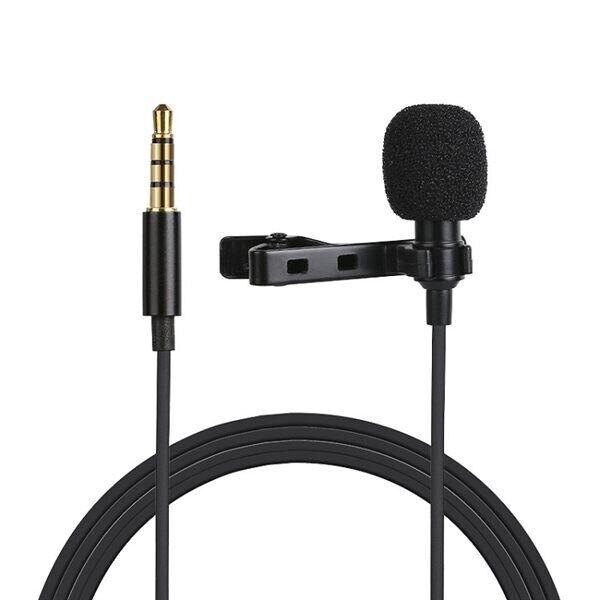 24hshop Mikrofoni clipsillä laitteisiin, joissa on 3.5mm portti