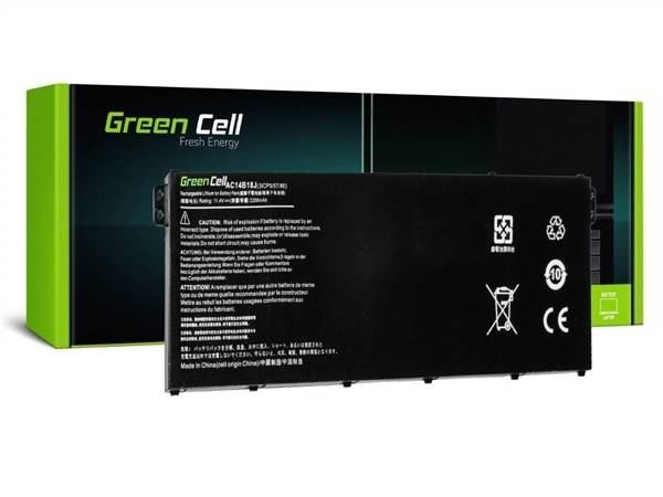 24hshop Kannettavan tietokoneen akku Acer Aspire E 11 ES1-111M ES1-131 E 15 ES1-512 / 11,