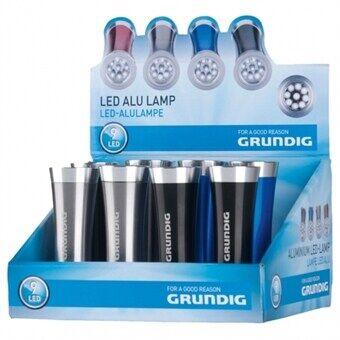 24hshop Grundig Taskulamppu Alumiini Design