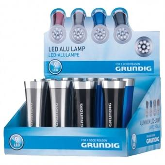 Grundig Taskulamppu Alumiini Design