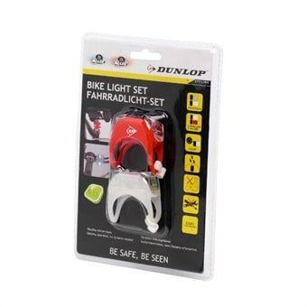 Dunlop Polkupyörän valo - Täydellinen sarja etu & takavalo