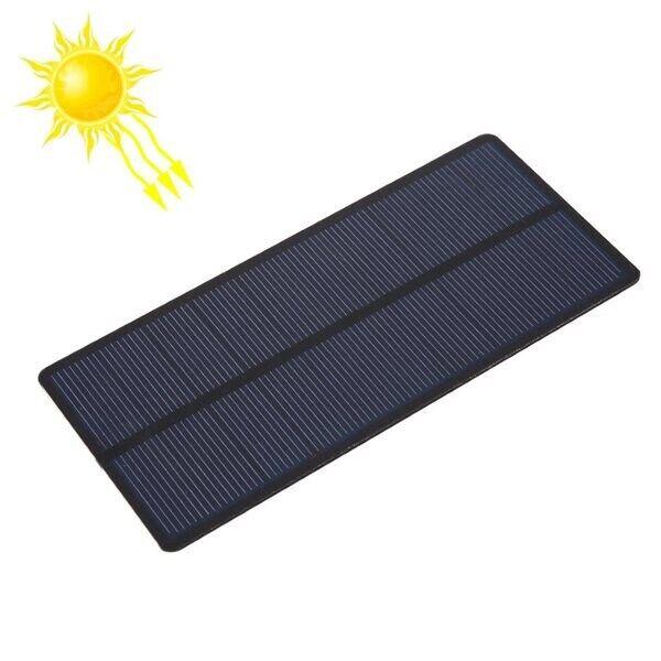 Aurinkopaneeli 5V 1.4W 280mAh - 150 x 69mm