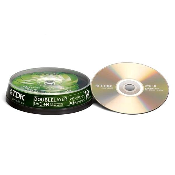 TDK DVD+R Cake 10-pakkaus