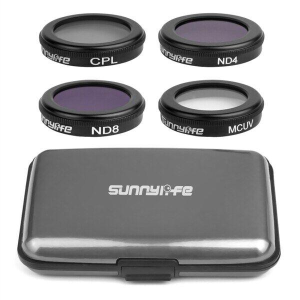 Sunnylife 4in1 Objektiivi suodinsarja DJI Mavic 2 Pro / Zoom