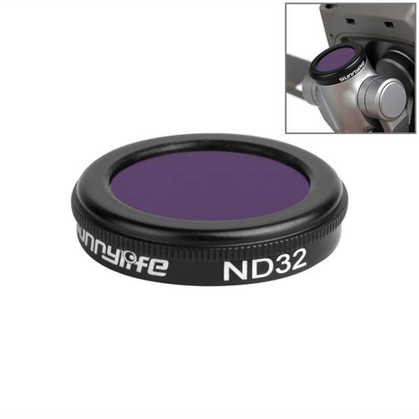 Sunnylife Objektiivi suodin ND32 DJI Mavic 2 Pro / Zoom