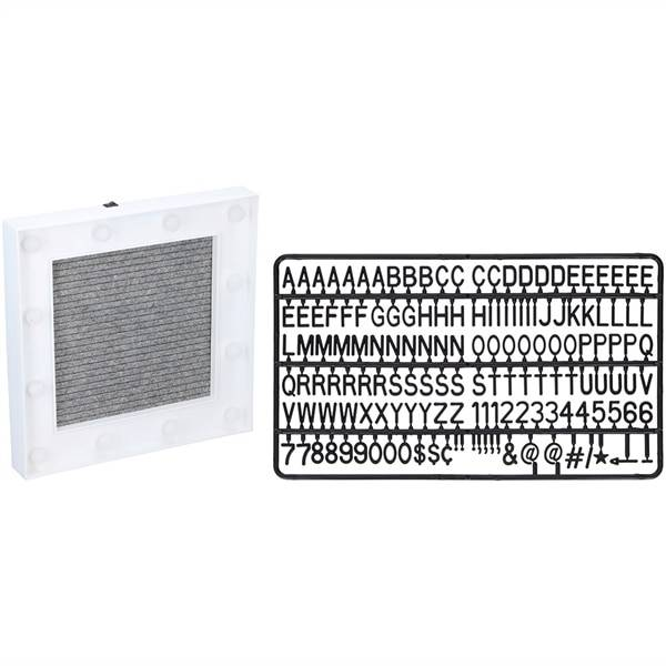 Grundig Tekstitaulu LED-kehyksellä