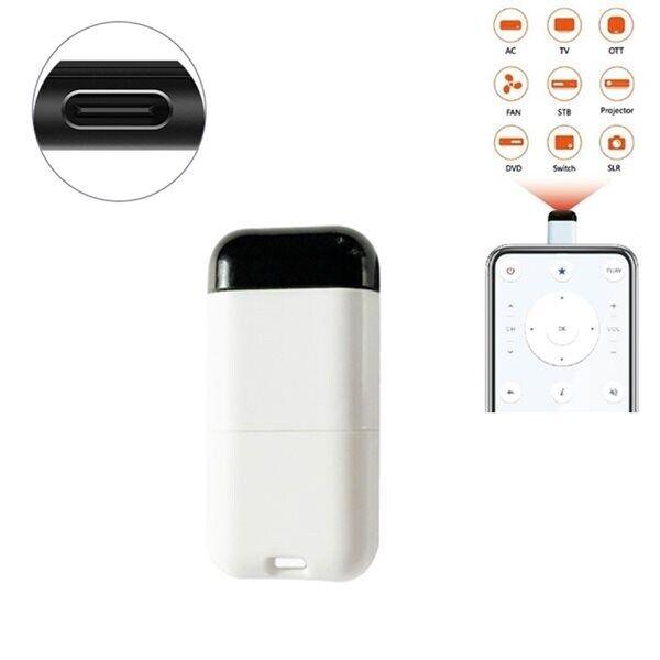 24hshop IR Kaukosäädin Matkapuhelin USB Tyyppi-C