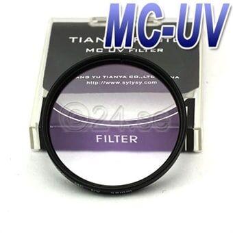 MCUV-filter till kamera 72 mm