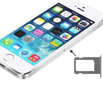 Apple Sim-kortin pidike iPhone 5S Hopea