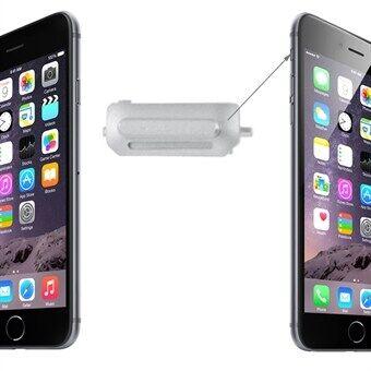 Apple Mykistysnäppäin iPhone 6 & 6 Plus - Hopea
