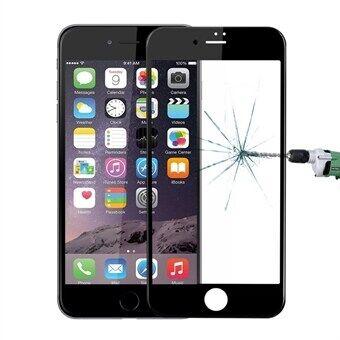 Apple Baseus lasisuoja iPhone 8 / 7 - Koko näyttöä suojaava Musta