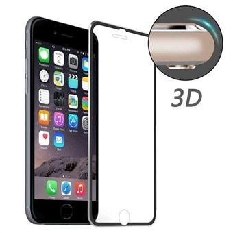 Apple Karkaistu Lasisuoja iPhone 8 / 7 - Kaareva Musta