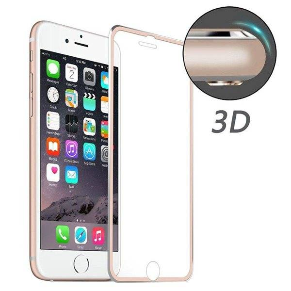 Apple Karkaistu Lasisuoja iPhone 8 / 7 Rose Gold