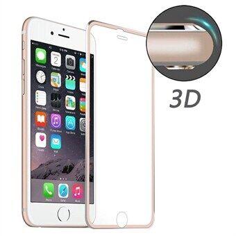 Apple Kaareva karkaistu Lasisuoja iPhone 6  / 6S - Rose Gold