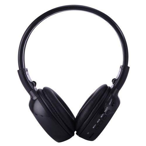 24hshop On-Ear kuulokkeet Musta
