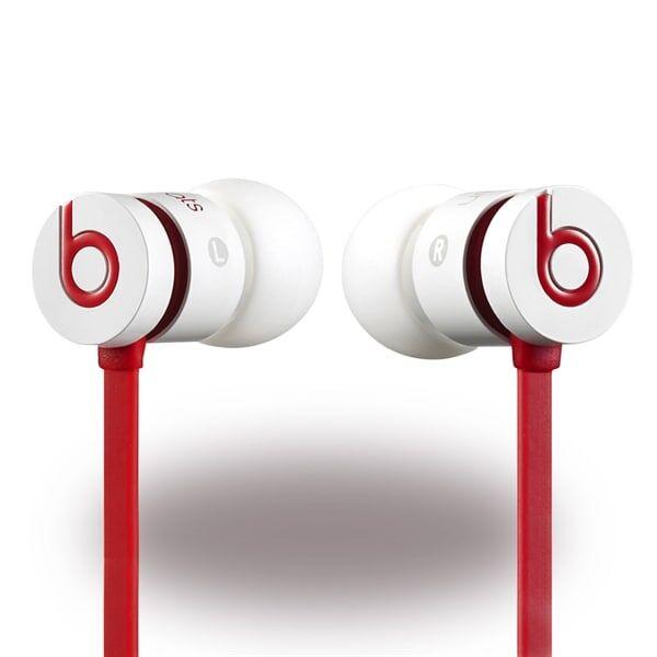 Apple Monster - UrBeats 2 - Beats by Dr. Dre - In-Ear Headset - Punainen / Valkoinen
