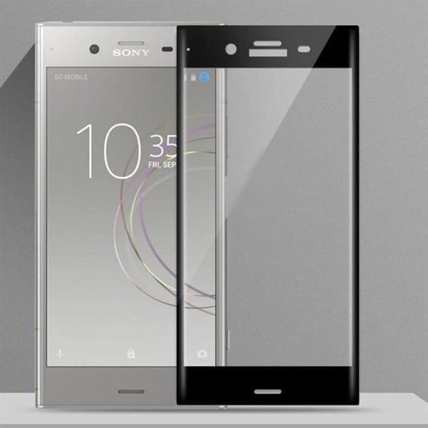 Sony Ericsson Suoja karkaistua lasia koko näytölle Sony Xperia XZ1